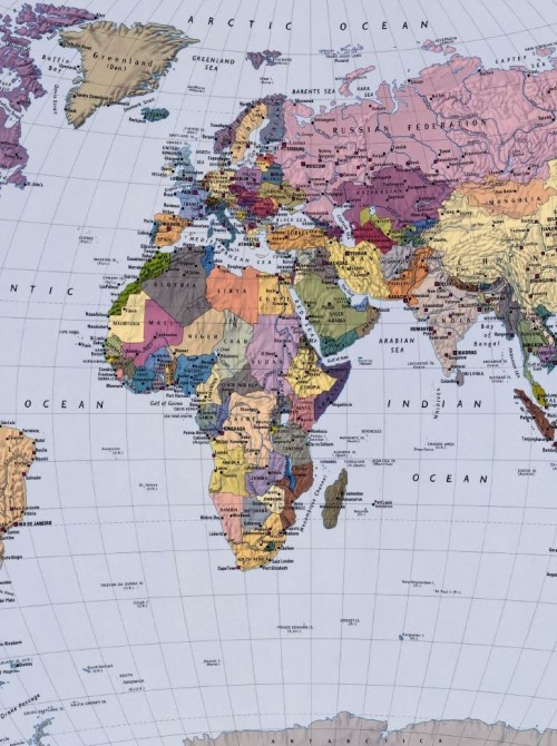 The Picture Of The World Map.World Map