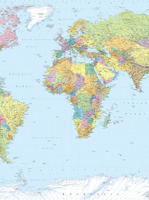 Map Of The World Picture.World Map