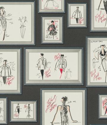 Sketch Karl Lagerfeld